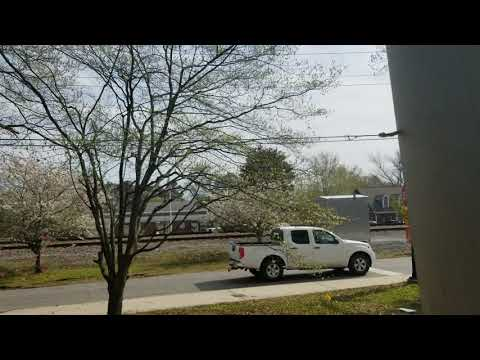 Train hitting truck in Acworth GA - YouTube