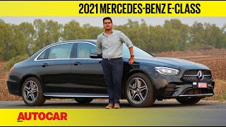 2021 Mercedes-Benz E-Class review - Star performer | First Drive | Autocar India