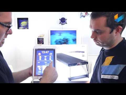 Aqua Medic spectrus 60 & 90 LED | Review | Meerwasser Live TV