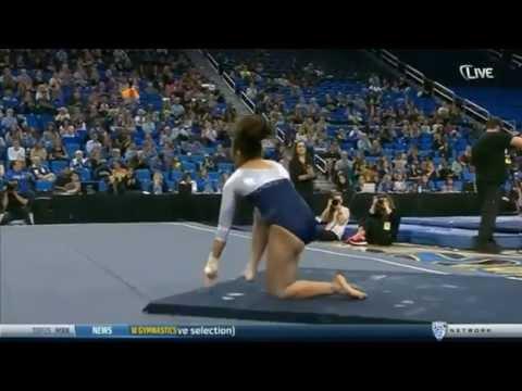 Angi Cipra (UCLA) 2015 Floor vs Washington 9.8