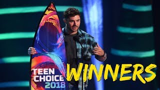 Teen Choice Awards 2018 WINNERS Full List