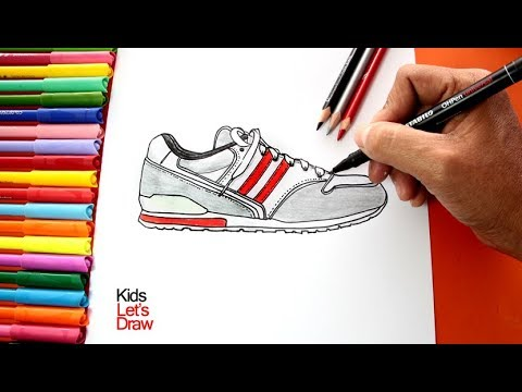 Unas Draw Sneakers Cómo Zapatillas Dibujar To DeportivastenisHow hsCtQrd