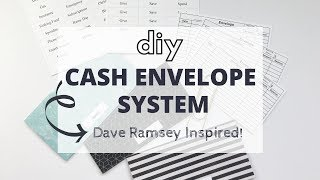 DIY Cash Envelope System | Dave Ramsey Inspired!