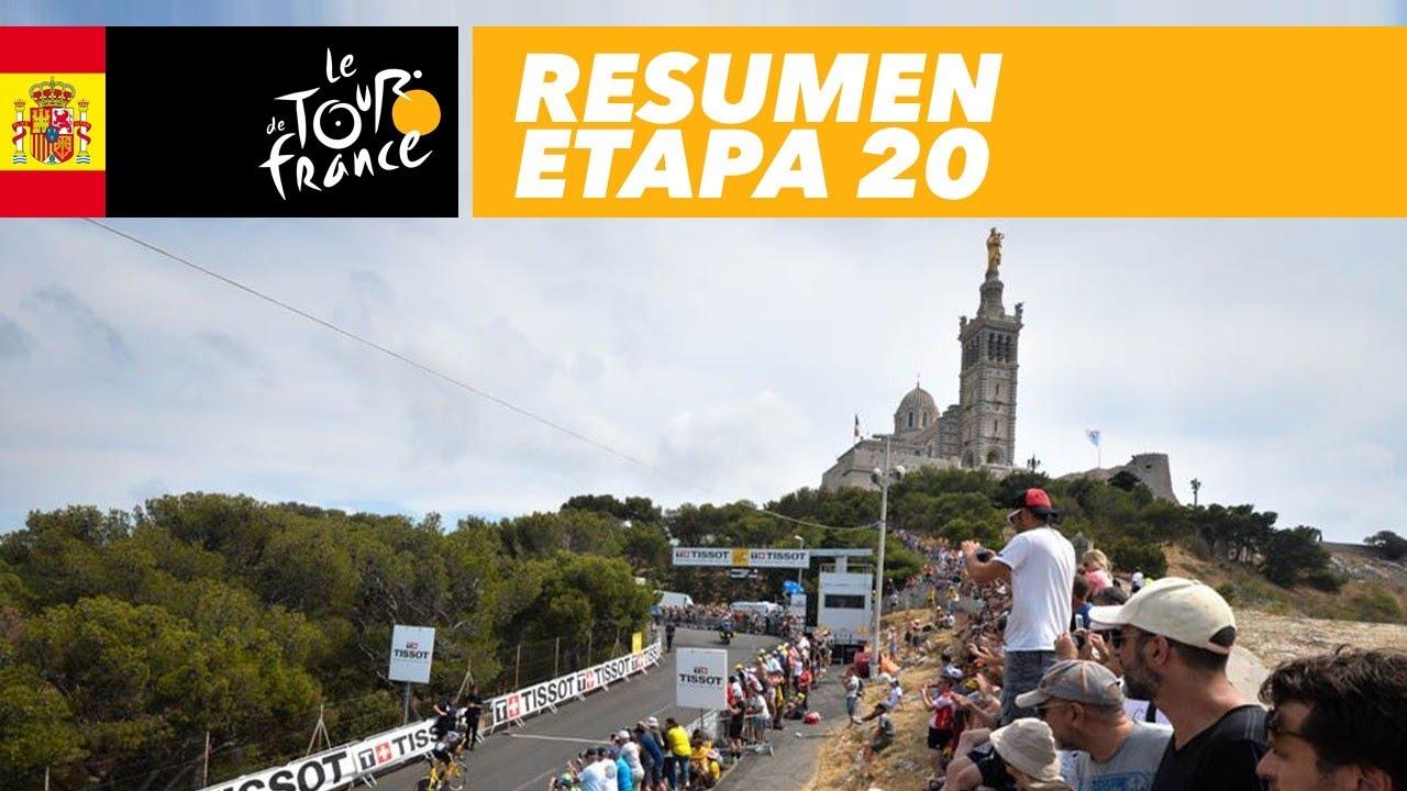 Resumen Etapa 20 Tour De France 2017 Youtube