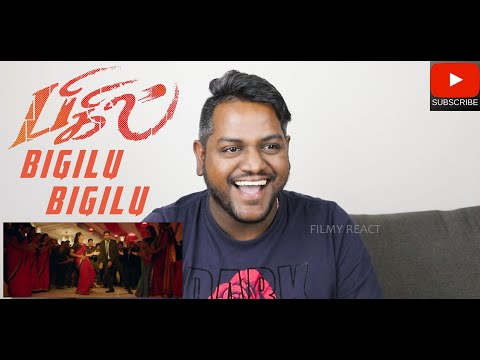 Bigil Bigil Bigiluma Song Reaction | Malaysian Indian | Bigil | Vijay | Nayanthara | AR Rahman