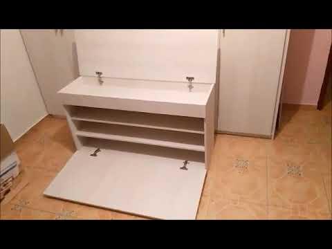 bac8c00b zapateras de madera modernas - YouTube
