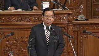 安倍内閣不信任案賛成討論