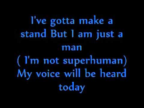 Skillet- Hero (lyrics)