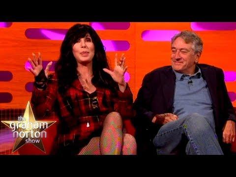 Robert De Niro & Cher Had Their Dinner Interrupted By Drag Queens   The Graham Norton Show