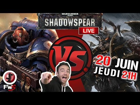 Space Marines Vs Chaos Space Marines format Shadow Spear !