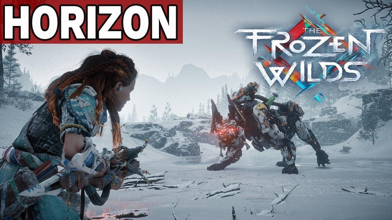 ZACZYNAMY DLC – HORIZON THE FROZEN WILDS