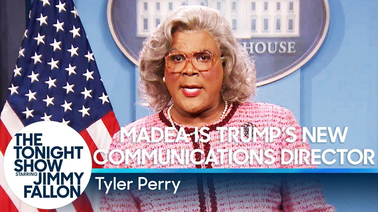 Madea Is Trumps New Communications Director Youtube