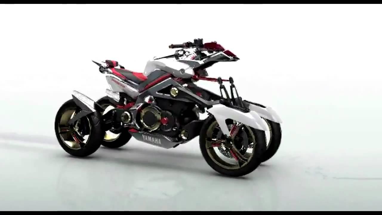 Yamaha Four Wheelers For Sale >> yamaha tesseract 3D - YouTube