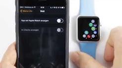 Apple Watch Apps aus dem App Store installieren und deinstallieren/ löschen