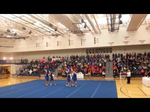 Imlay City Middle School Competitive Cheer - Mardi Gras Invitational (Oxford, MI) - 5th Place