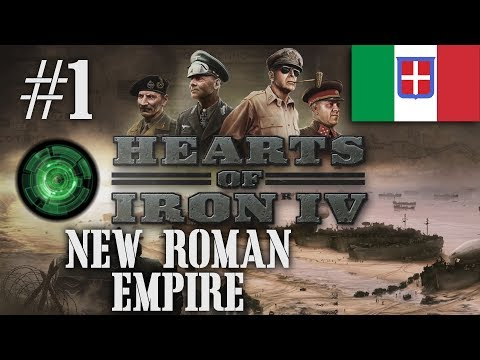 Hearts of Iron IV - New Roman Empire with DoD