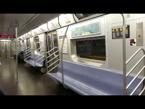 IND 6th Ave Line: On Board R160A-1 M Train via 2nd Ave from 47th-50th Sts to 86th St-2nd Ave