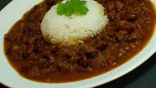 Kidney Beans Curry Recipe  (rajma)