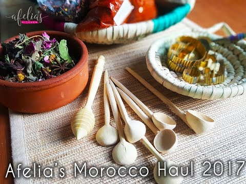 Morocco Haul 2017 | Afelia's Kitchen