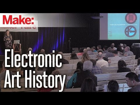 From the Electron to the Solar System, an Art History of Electronics - Megan Prelinger