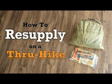How To Resupply On A Thru Hike + My Trail Food for 2020