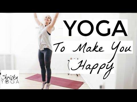 Yoga for Happiness - 30 Min Yoga - Yoga to Improve Mood - Yoga for Energy