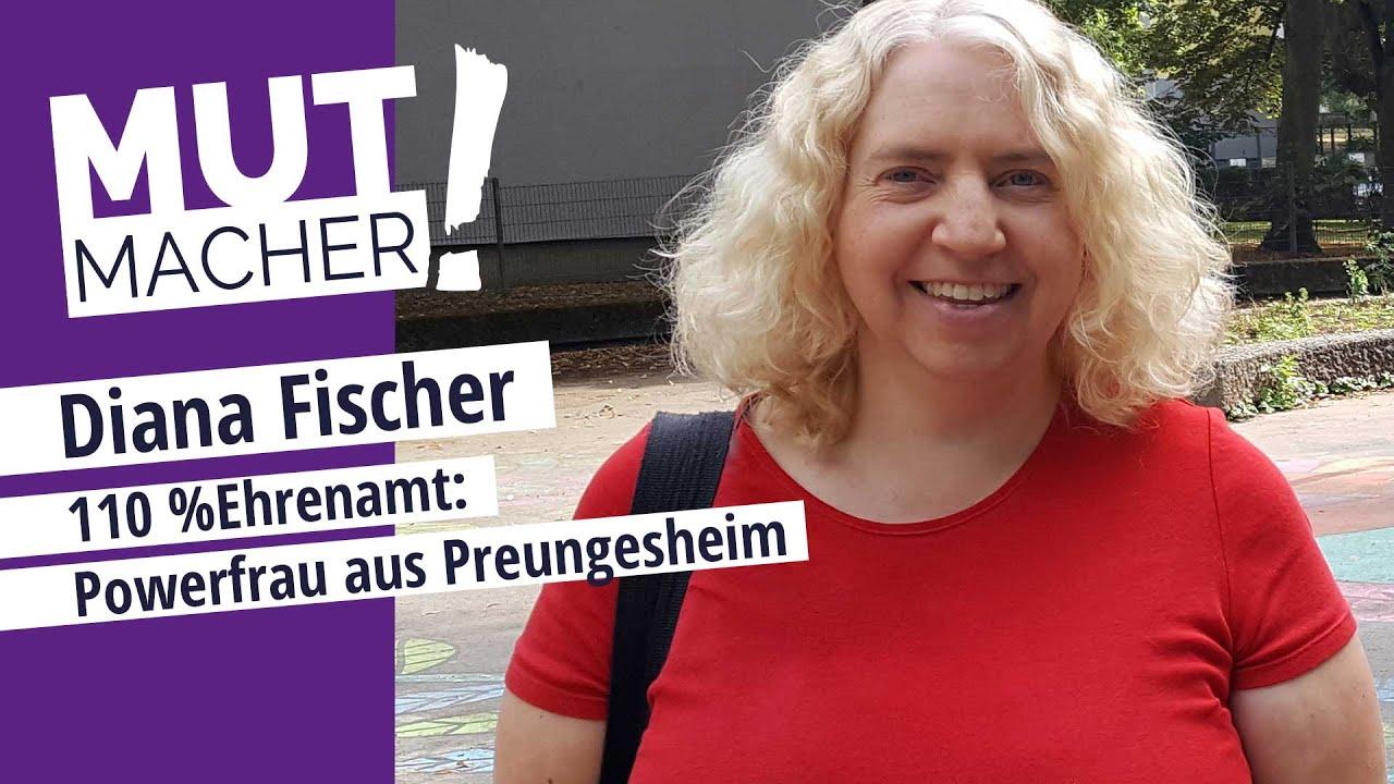 Die  Powerfrau aus Preungesheim: Mutmacherin Diana Fischer