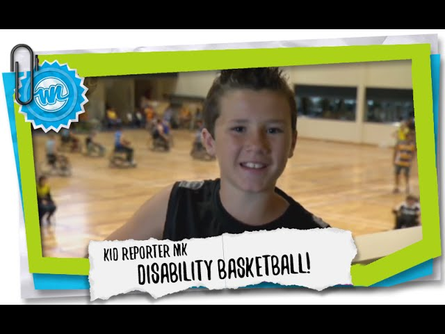 Kid Reporter Nik | Disability Basketball!