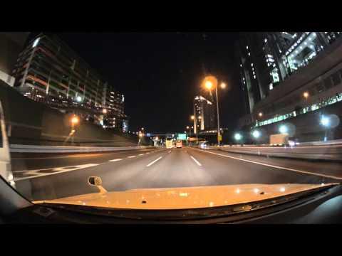 Tokyo expressway night drive 4K
