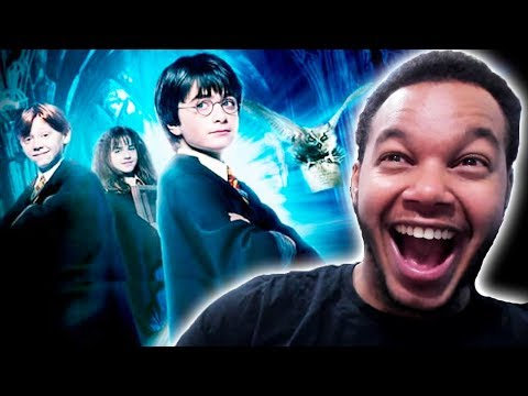 WATCHING Harry Potter For The VERY FIRST TIME (REACTION)