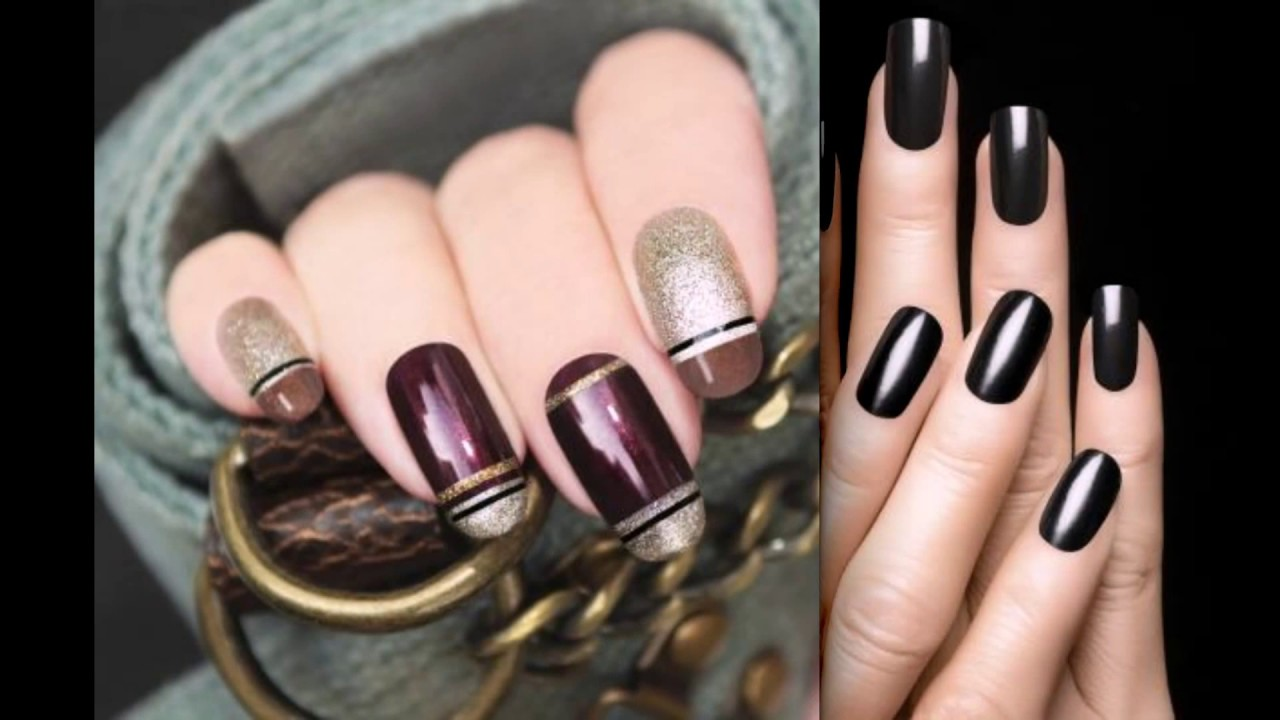 fall winter 2017-2018 nail art
