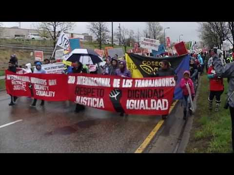 TRAILER - International Workers Day March, May Day 2017