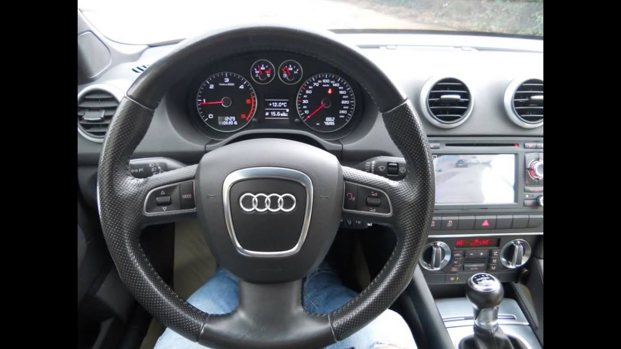 audi a3 cabrio 1 6 tdi 105 cv anno 2010 79000 km. Black Bedroom Furniture Sets. Home Design Ideas