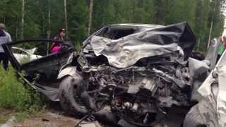 В ДТП на трассе в Прибайкальском районе погибли трое, пятеро ранены