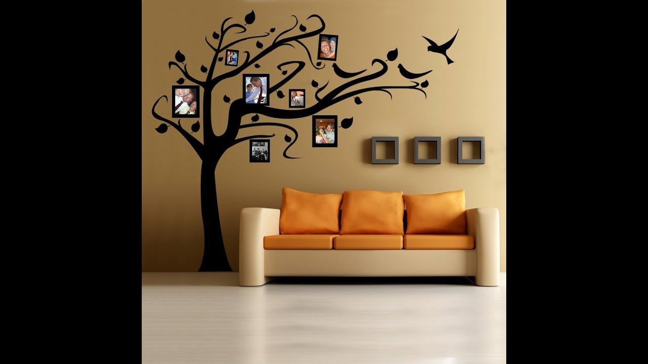 11 creative ideas for home family photo frame hang on the wall youtube