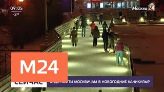 Куда пойти москвичам в новогодние каникулы - Москва 24