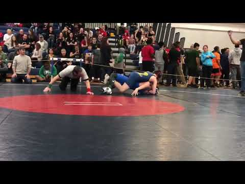 Christian Rutherford (Western Hills Middle School) - 2018 RIPCOA Wrestling States 133 Lbs - Semis
