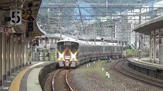 七尾線用521系100番台試運転 敦賀駅到着~発車 2020/10/03