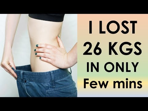 HOW I LOST 26 KGS WEIGHT IN 10 DAYS | LOSE WEIGHT BY DOING THIS 45 MINS /DAY| Natural Home Remedies