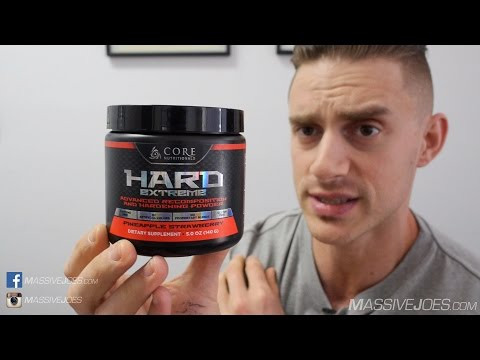 Core Nutritionals Hard Extreme Hardening & Recomp Supplement Review - MassiveJoes.com Raw Review