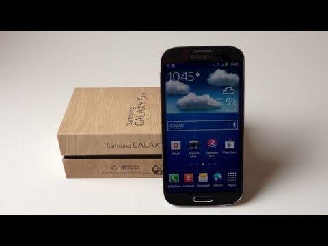 Déballage et présentation du Samsung Galaxy S4 (Unboxing) ! ᴴᴰ