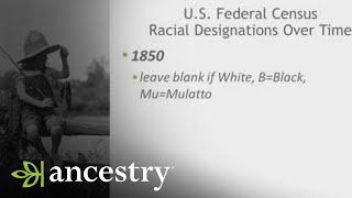 Racial Designations Over Time