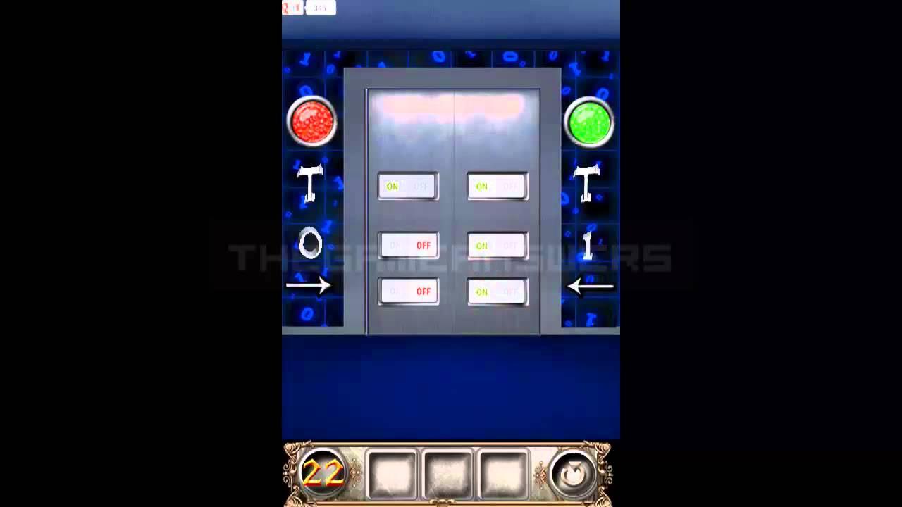 100 Doors Floors Escape Level 22 Walkthrough Guide Youtube