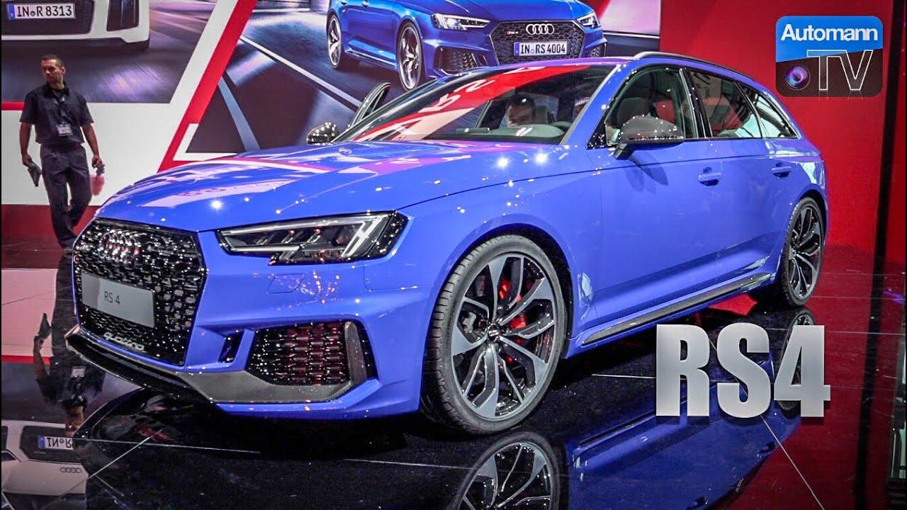 2018 Audi Rs4 Avant 450hp Automanntalks