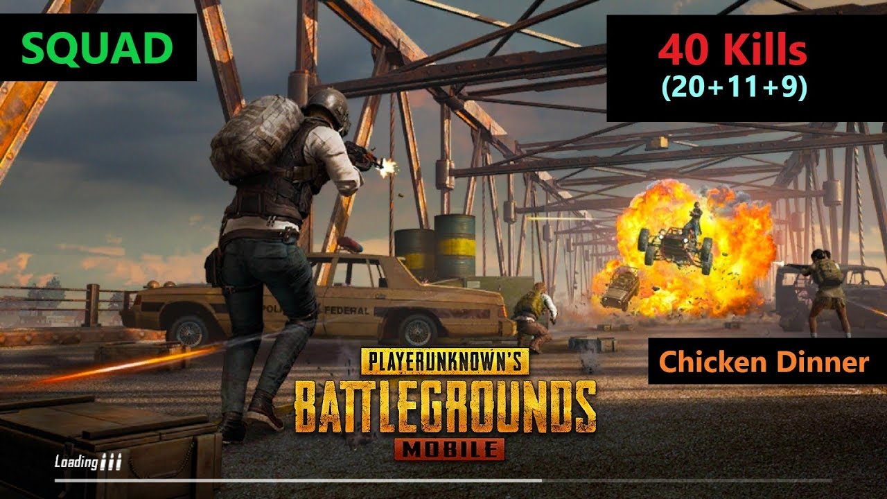 """Check Out This Awesome Winner Winner Chicken Dinner Pubg: """"20 Kills"""" Amazing Squad Match"""