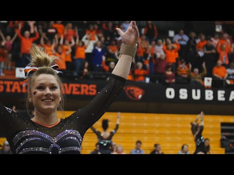 OSU Gymnastic Highlights vs. Cal - 2/20 STOLE THE SHOW mix