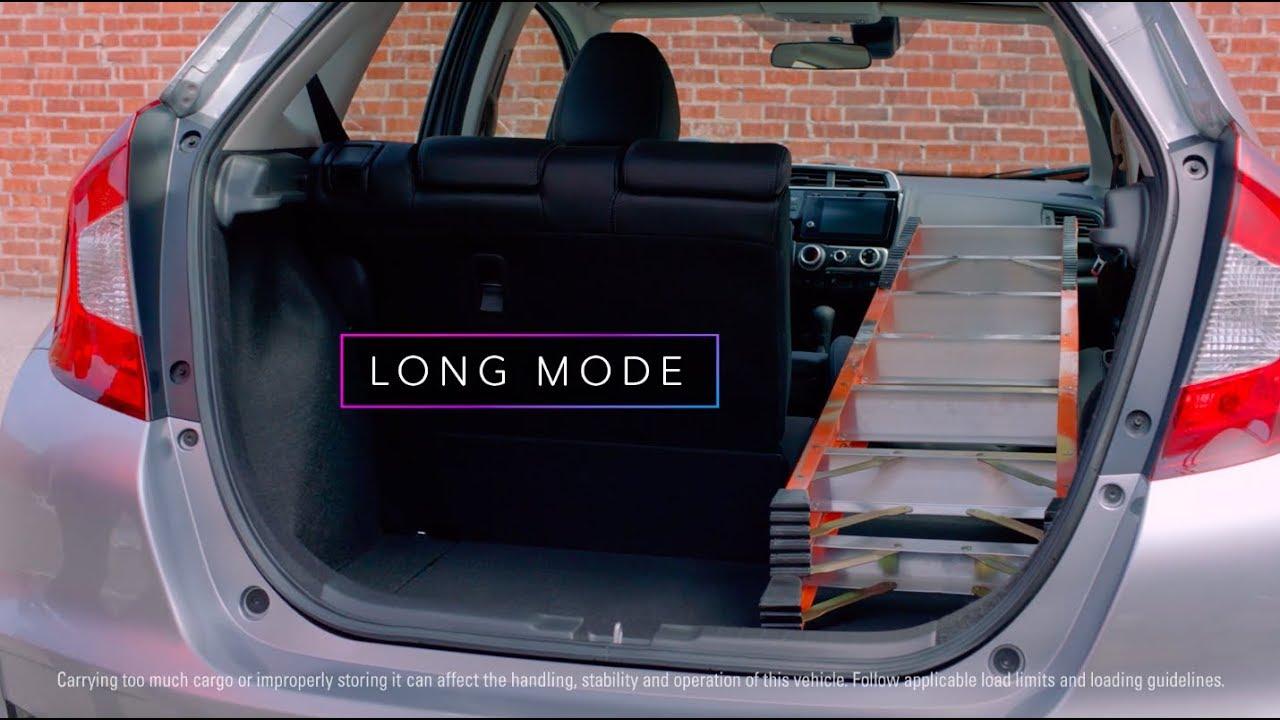 2019 Honda Fit Cargo Versatility Youtube