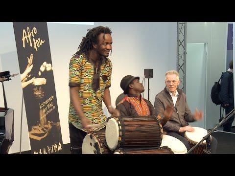 Musikmesse 2016 –afrikanische Musikinstrumente von Afroton