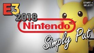 Nintendo: E3 2018 - Simply Put (Funny Moments) // Comire