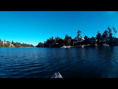 Kayaking the Gorge Victoria Vancouver Island